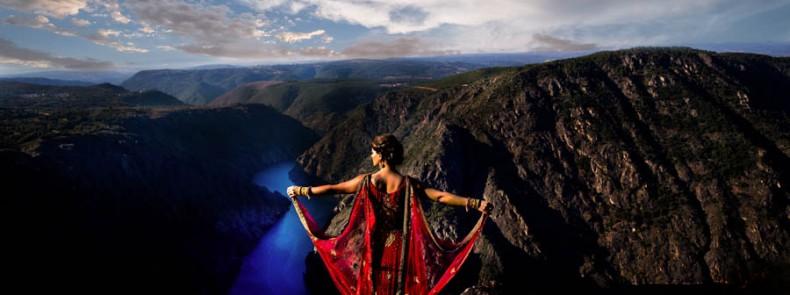 fotografia y video de boda india en galicia. Sangeet